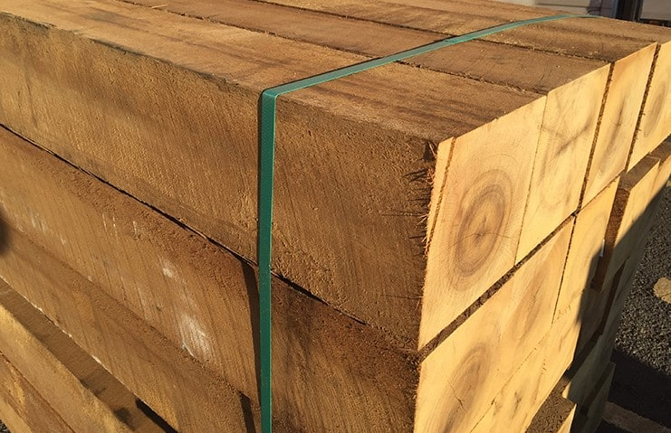 greenheart timber posts