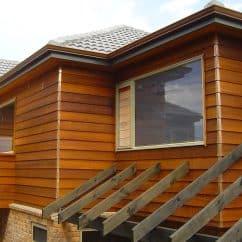 Bevelback Clad house