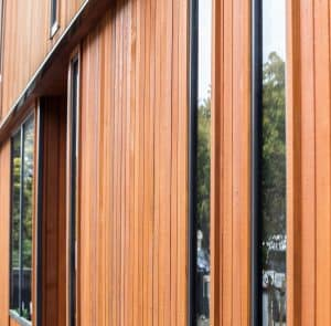Cedar vertical Cladding