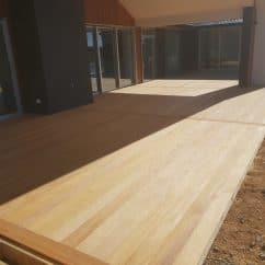Garapa Decking 140x19