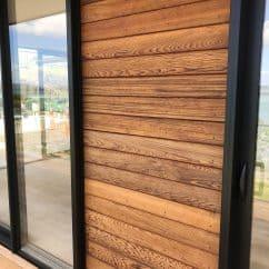 Horizontal Cedar weatherboard