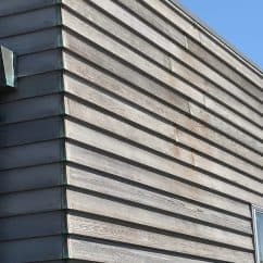 Worn Cedar cladding