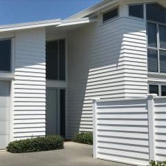 Painted Weatherboard house