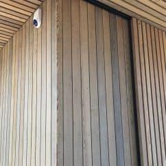 Cedar Vertical weatherboard