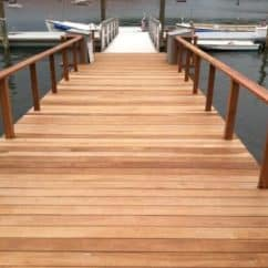 Ipe decking and rails