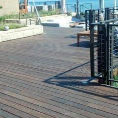Ipe decking boardwalk