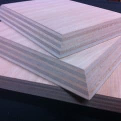 Gaboon/Okoume Plywood samples