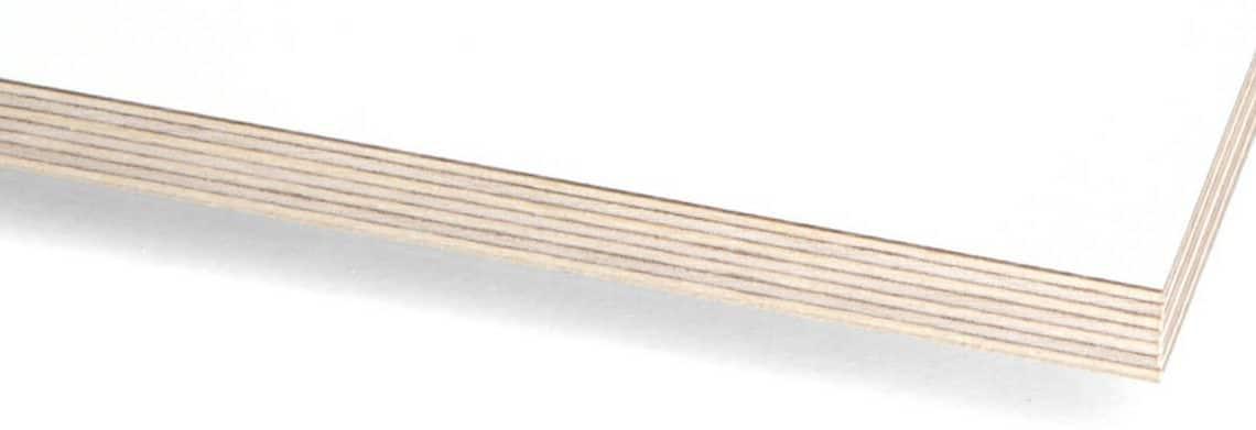 Hpl white birch plywood