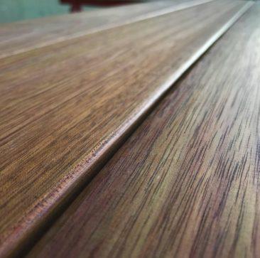 Jatoba hardwood Camber decking