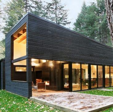 Cedar Weatherboard House