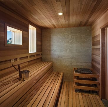 Cedar Sauna Panelling