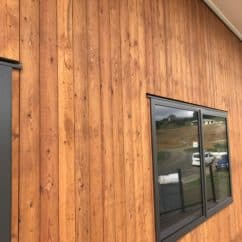 Siberian Larch Vertical cladding