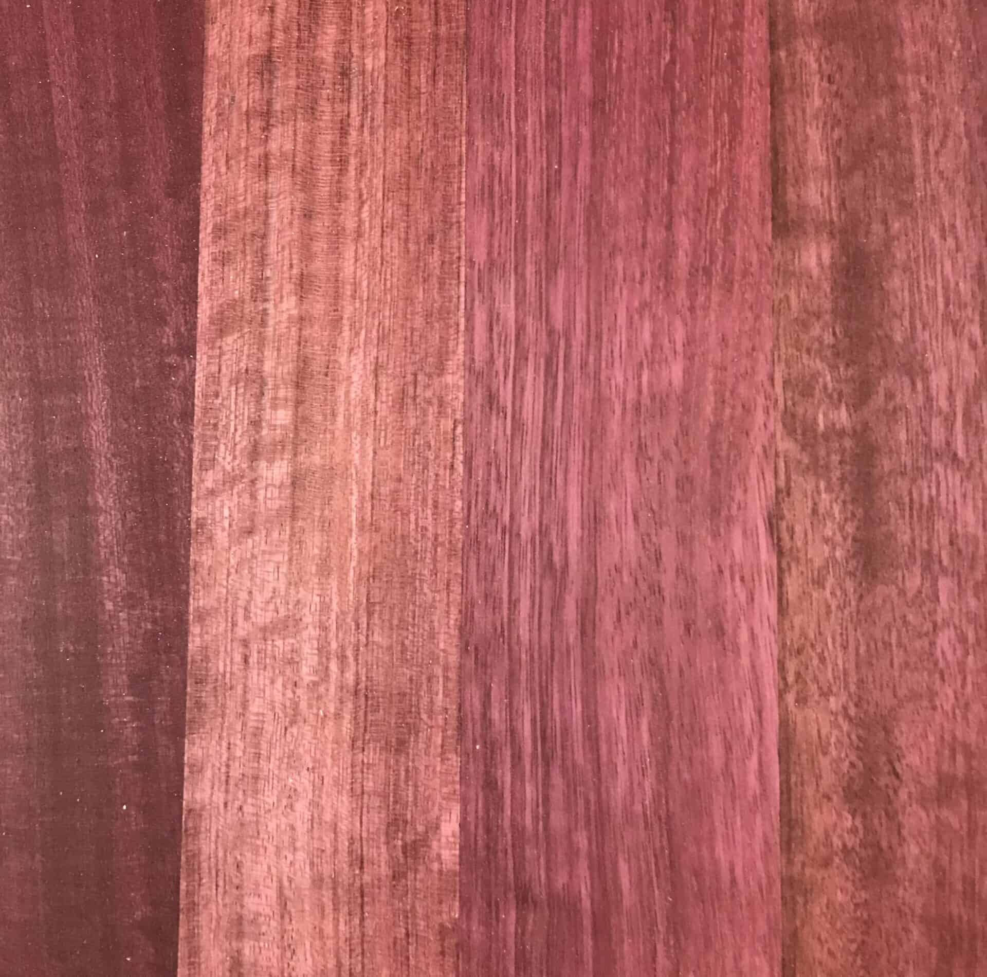 Purpleheart timber